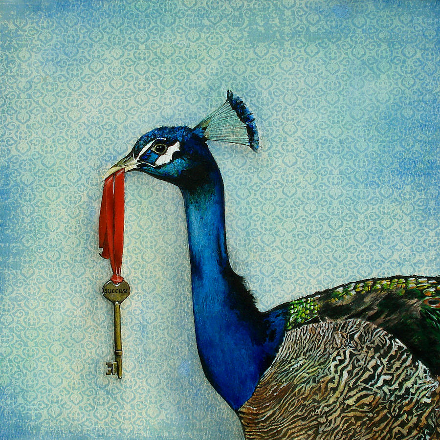 http://carriejacksonstudios.com/2.0/portfolio/paintings/surreal/the-key-to-success/#.UjdMv8ako2s