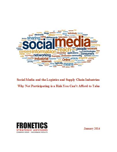 Fronetics Social Media White Paper