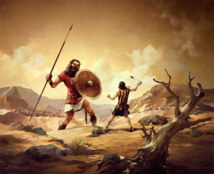 How social media can make David a formidable challenge to Goliath