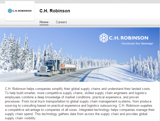 best LinkedIn company pages of the logistics and supply chain industries