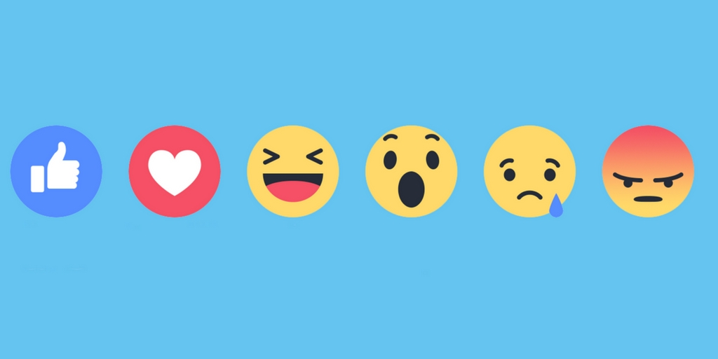 Facebook Ranks Reactions Higher than Likes and More Social Media News