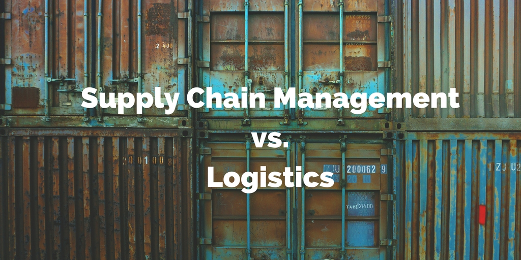 What's the Difference Between Supply Chain Management and Logistics [Infographic]