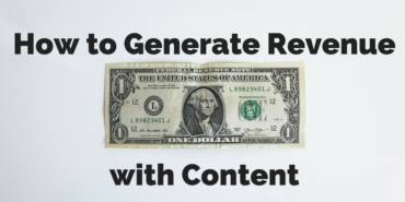 How to Generate Revenue with Content for the Supply Chain