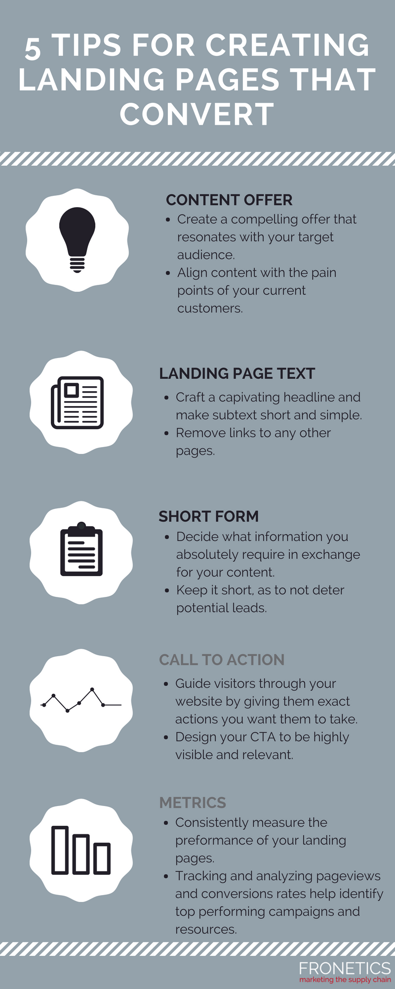 5 Tips for creating landing pages that convert