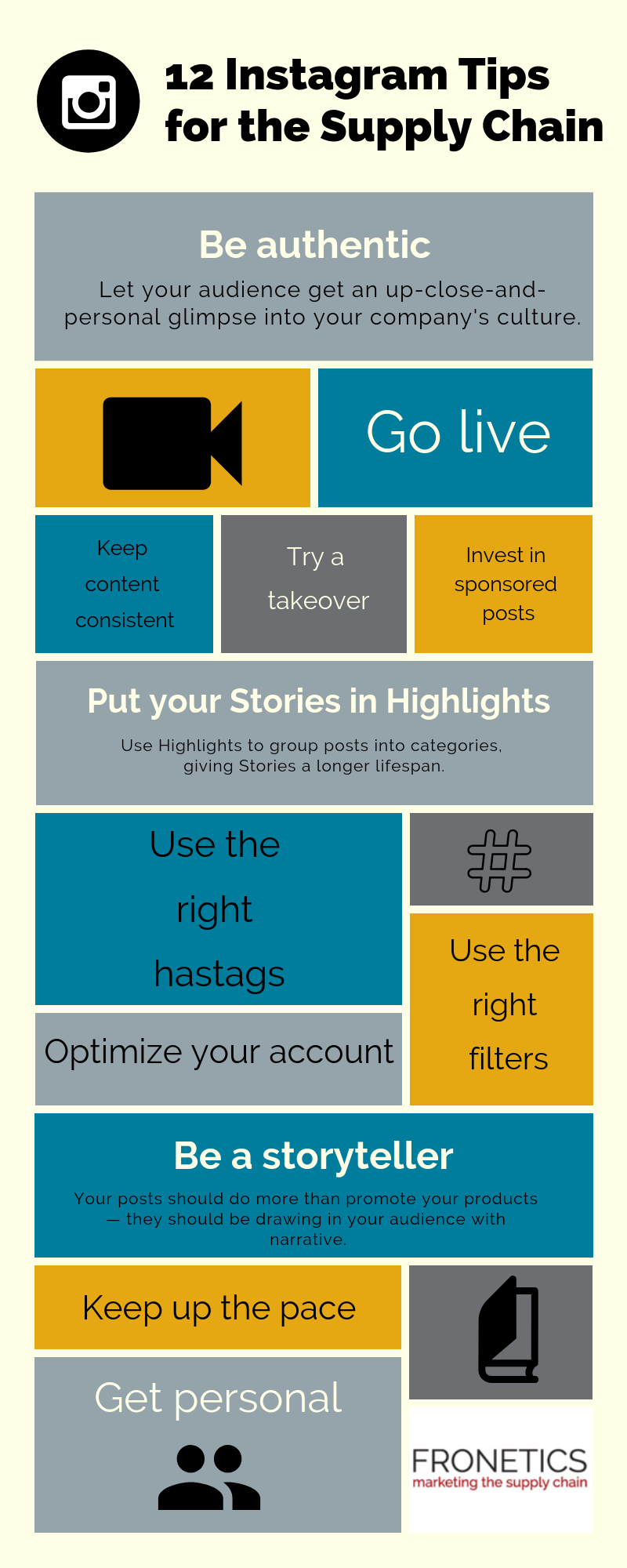 Top Instagram Tips for Suply Chain Companies