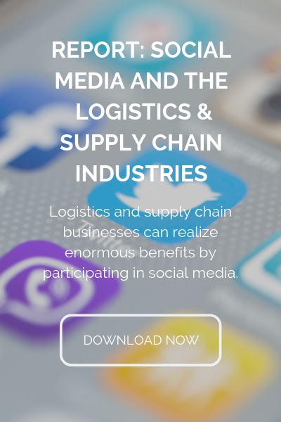 report on social media in the logistics and supply chain industries