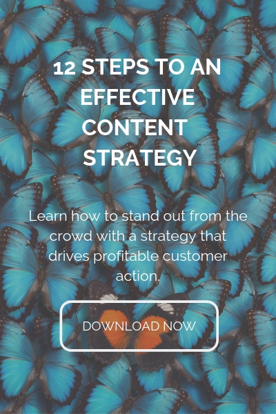 12 STEPS TO AN EFFECTIVE CONTENT STRATEGY