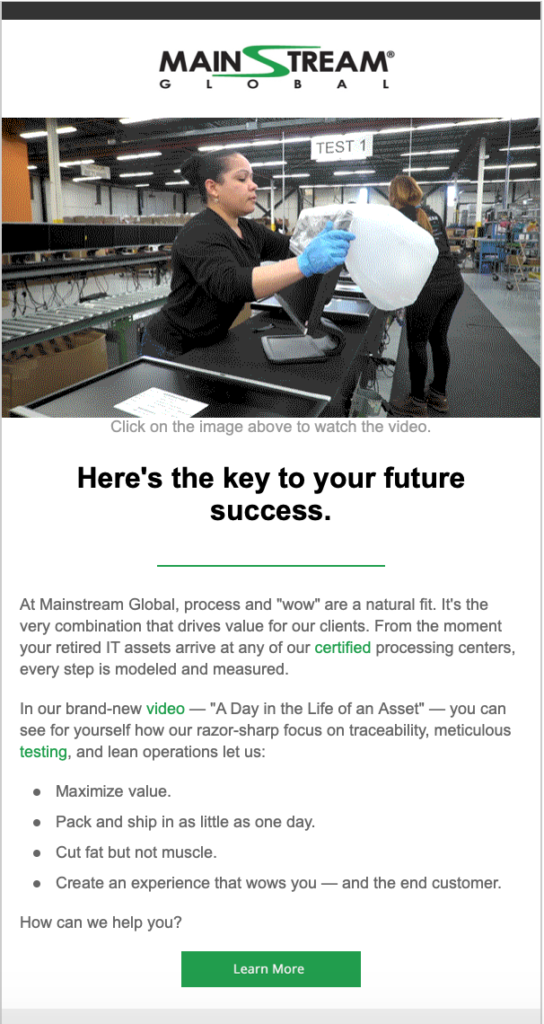 msg email