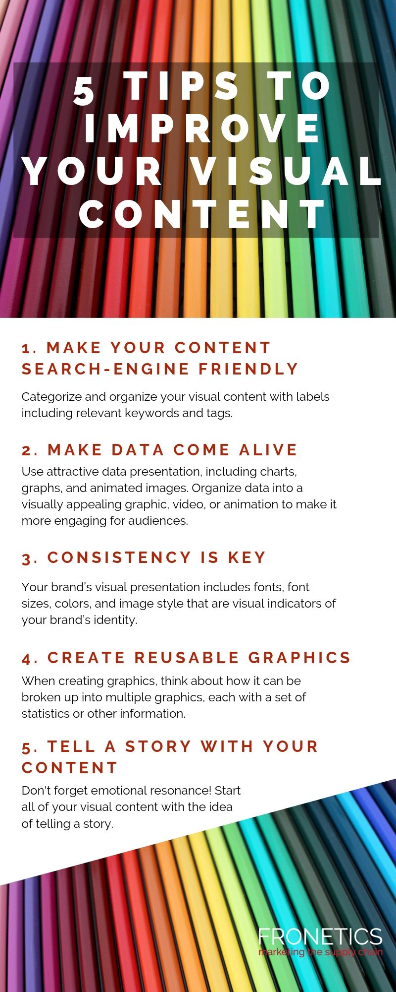 5 Tips to Improve Your Visual Content